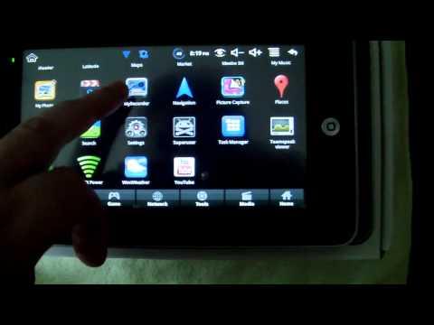 WonderMedia Android 2.2 - 7 Inch Mini Gadget Tablet
