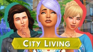 The Sims 4 City Living | Part 1 - APARTMENT LIFE