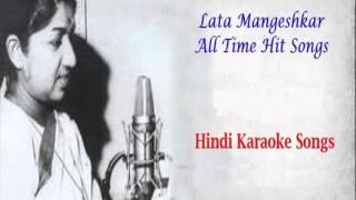 SHEESHA HO YA DIL HO- Karaoke-Lata-Lata Mangeshkar-Full Karaoke