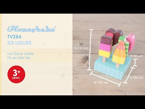 Ice Lollies | Honeybake© Collection | Le Toy Van | Traditional Wooden Toys