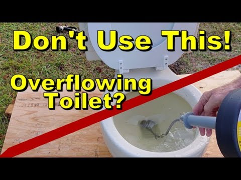 Don T Use Drain Snake In Toilet Best Way To Unclog Bowl You