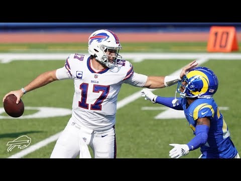 Josh Allen's Best Plays of 2020 - 2021 (All Games) - Buffalo Bills Highlights