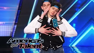 Sean & Luke: Cute Tap Duo Bust a Move to Hip-Hop Tunes - America