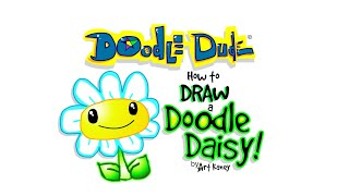 How to Draw A Daisy - The Doodle Dude - Art Kaney