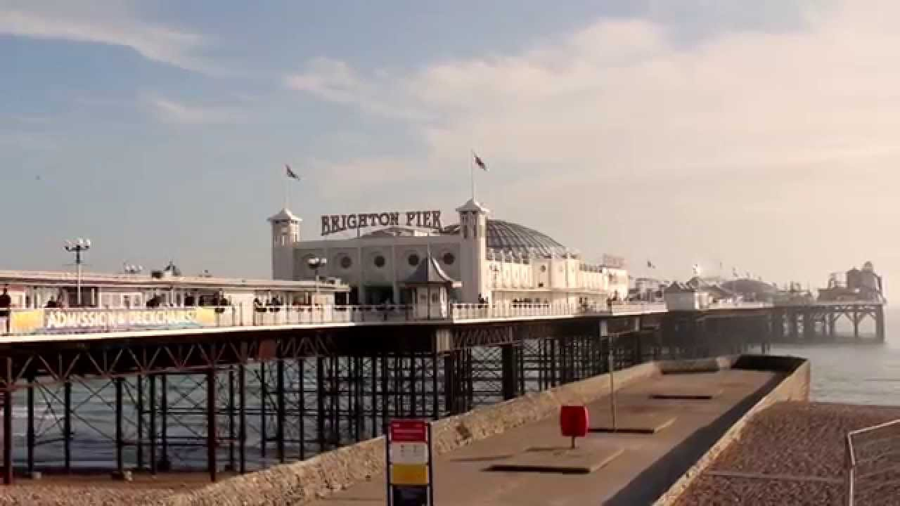 Welcome to Brighton, home of The Hippy clothing Co. - YouTube