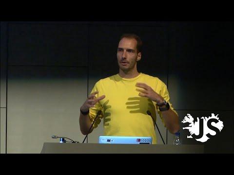 JavaScript on tiny, wearable hardware