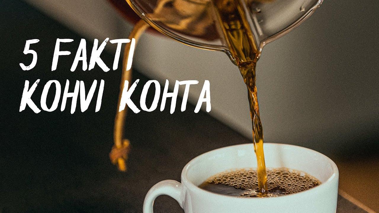 ☕5 fakti kohvi kohta