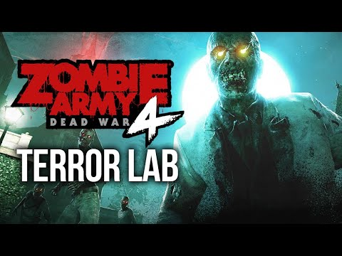 LaJoker Plays the OFFICIAL Terror Lab DLC for Zombie Army 4: DEAD WAR | Mission 1 |