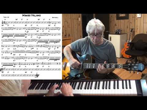 Mambo Italiano - Jazz guitar & piano cover ( Bob Merrill )