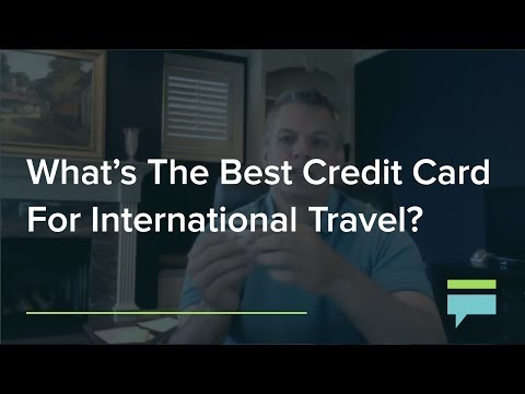 Whats The Best Credit Card For International Travel Credit Card Insider