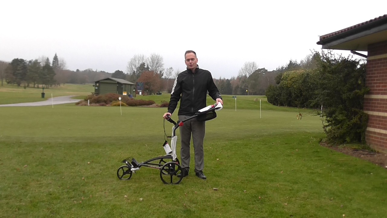 Big Max Autofold Golftrolley.Review Of The Big Max Autofold Ff Golf Trolley