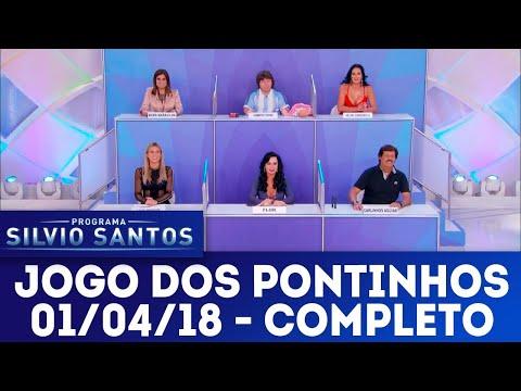Jogo dos Pontinhos - Completo | Programa Silvio Santos (01/04/18)