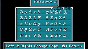 Let's Play Golden Sun Special: Passwords