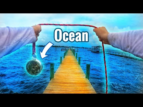 Magnet Fishing In The Ocean & You Won't Believe What I Found!!