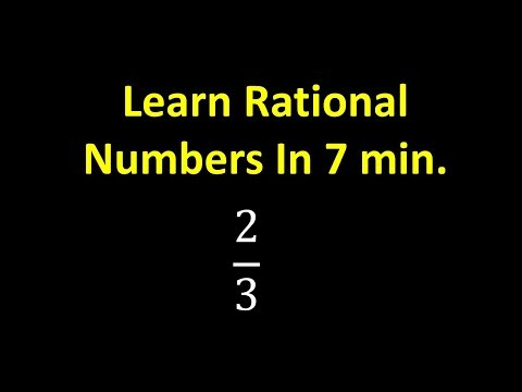Learn Rational Numbers In 7 min Mp3