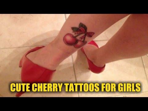 20 Cute Cherry Tattoos for Girls