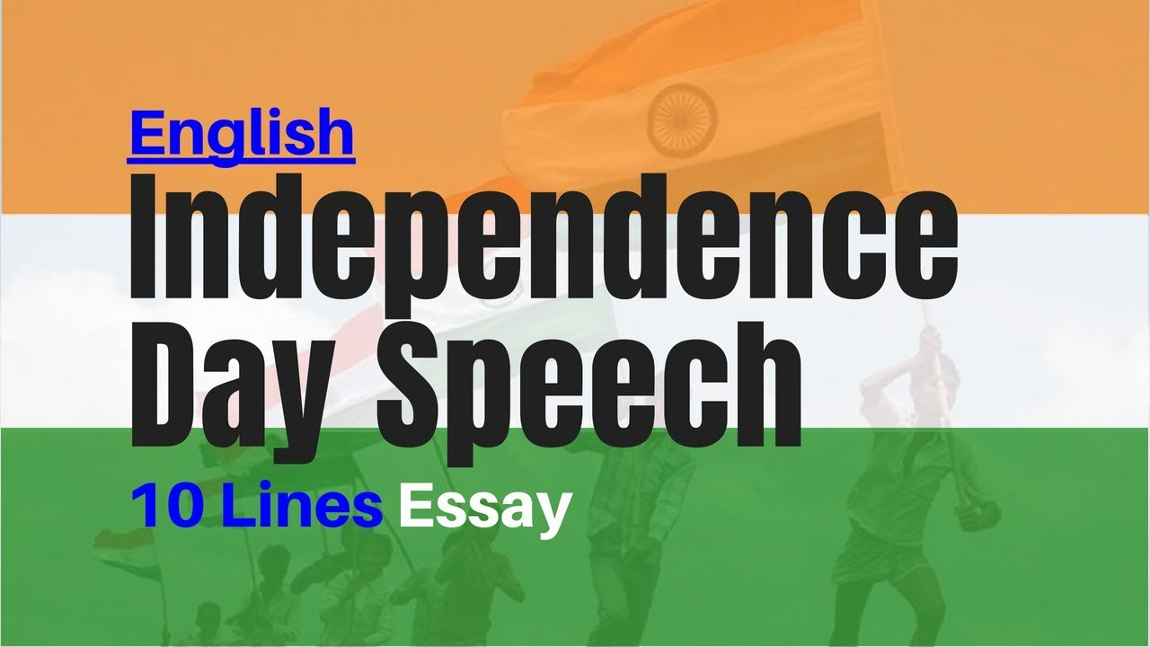 Lines On Independence Day  Th August Short Essay Speech  Youtube  Lines On Independence Day  Th August Short Essay Speech Business Plan Writers For Non Profits also Someone Do Assignment For Me  Examples Of Thesis Statements For English Essays