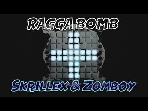 Skrillex - Ragga Bomb (Skrillex & Zomboy Remix) Launchpad Pro cover