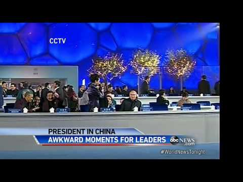 Those Awkward Moments in China for President Obama and President Putin