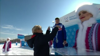 Универсиада-2019. Лыжные гонки Масс-старт, 30 км, свободный стиль, юноши