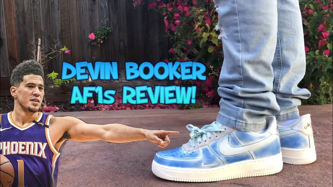 DEVIN BOOKER MOSS POINT AIR FORCE 1s