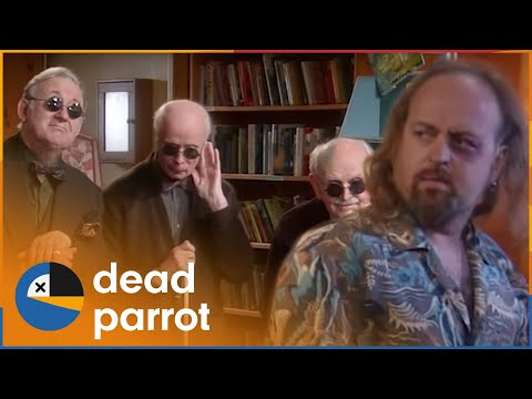 The Entertainer | Black Books | Series 2 Episode 1 | Dead Parrot