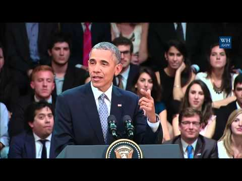 Obama Addresses Young Leaders In Argentina - Full Speech