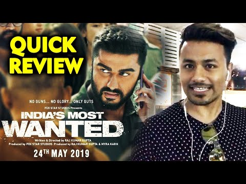 india's-most-wanted-quick-review-|-arjun-kapoor