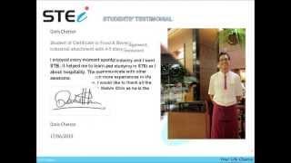 Stei Students Paid On The Job Training Testimonials