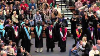 WF 2015 Graduation Ceremony - College of Education + College of Technology