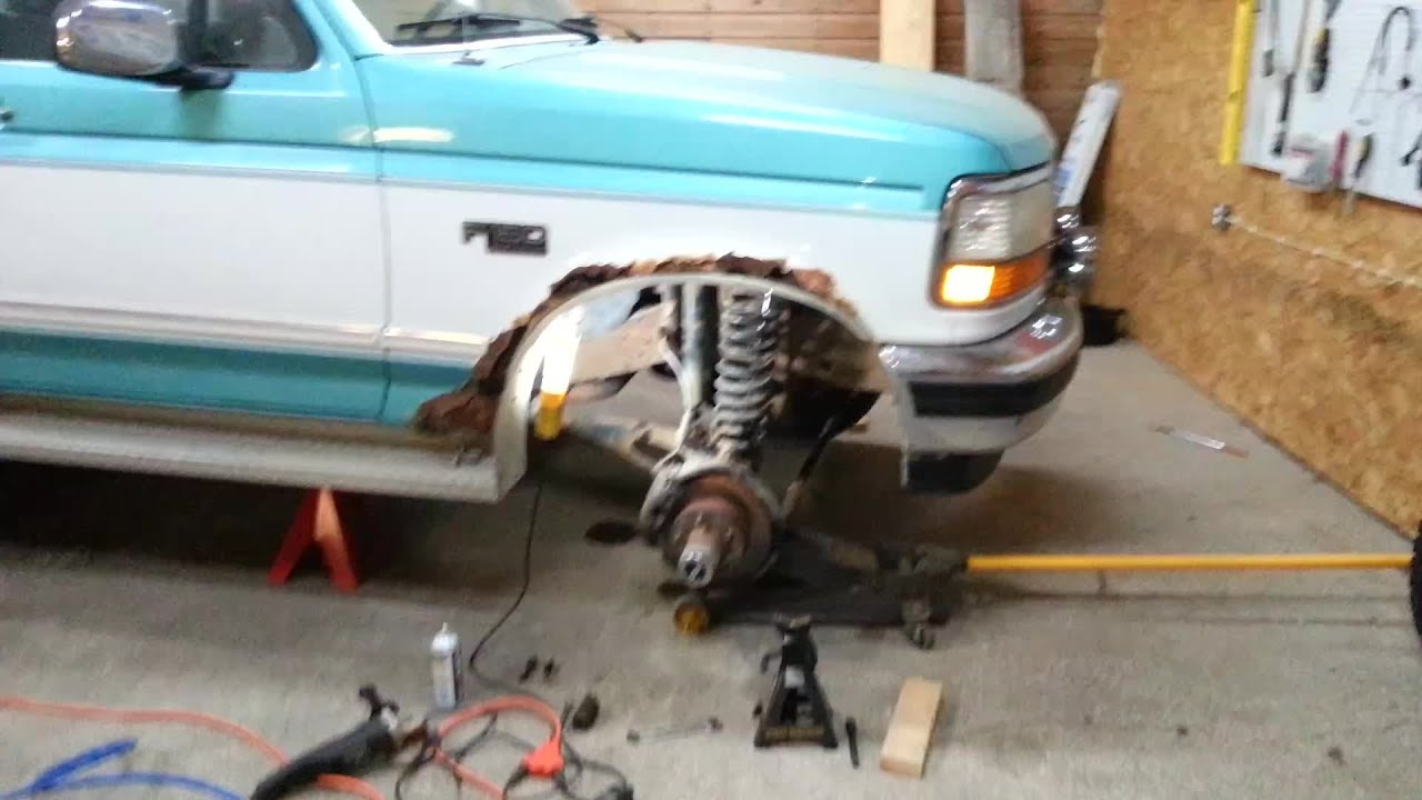 medium resolution of 1994 4x4 f150 suspension upgrade video