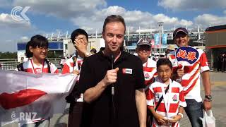 Rugby World Cup 2019 begins: The atmosphere in Japan Video