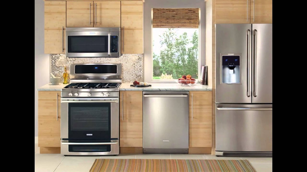 Kitchen Appliances Packages  YouTube