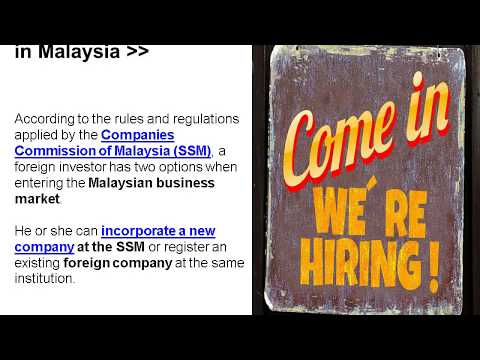 Open a Recruitment Company in Malaysia
