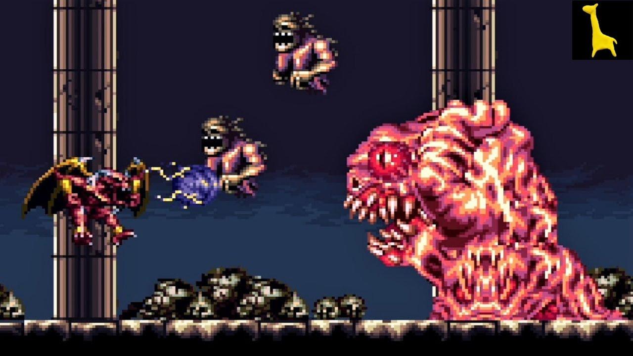 【デモンズブレイゾン 魔界村 紋章編】#08 ステージ6 7 帰ってきた魔界村のレッドアリーマーが主人公の魔界を支配する話 Demon's Blazon 字幕実況