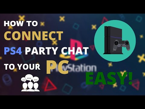 How To CONNECT Party Chat To Your PC   PLAYSTATION 4   GIVEAWAY EXPLAINED!