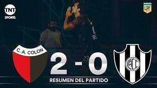Resumen de Colón SF vs Central Córdoba SE (2-0) | Fecha 3 | Zona 2 - Copa Liga Profesional