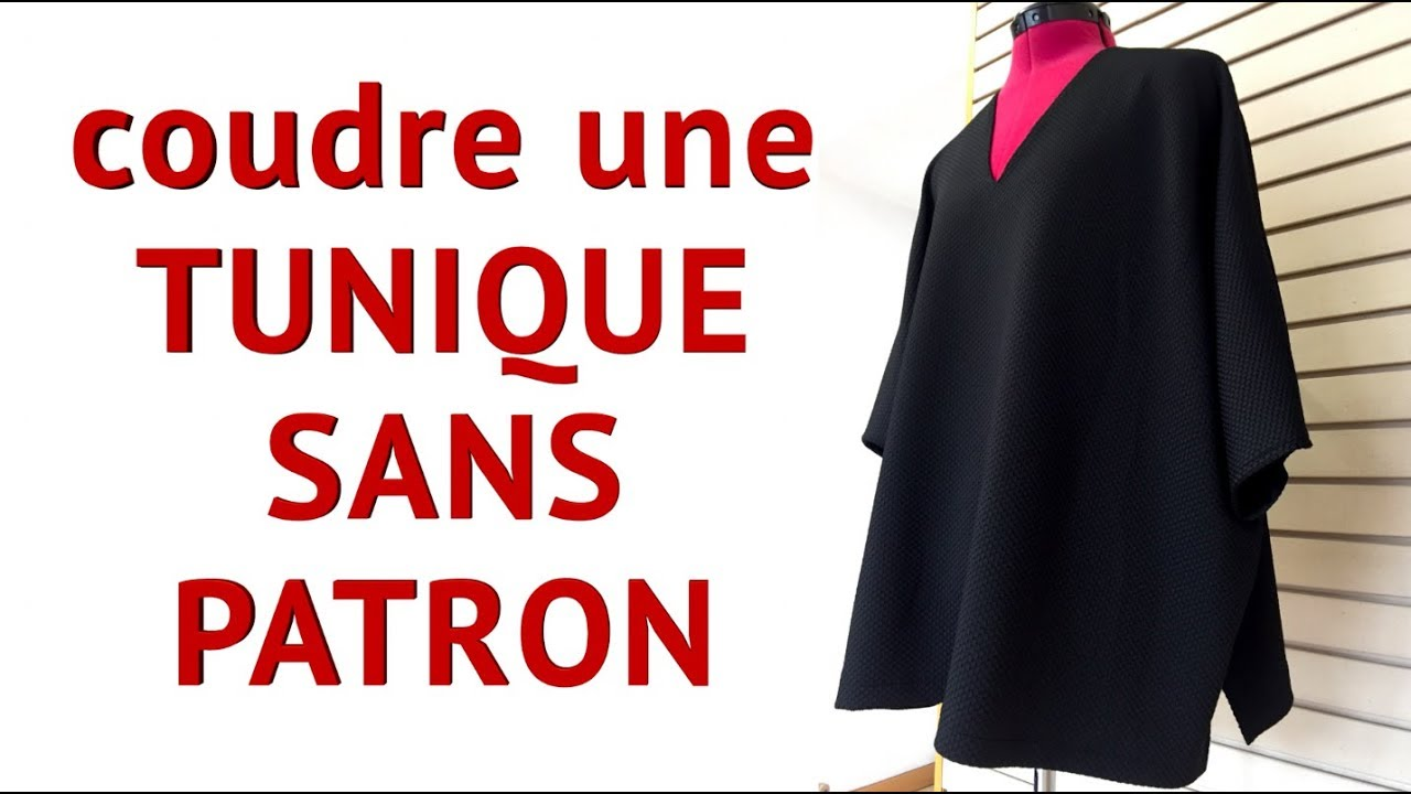 Patron couture tunique facile