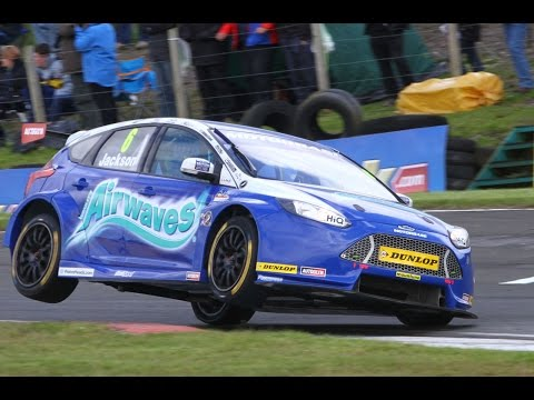 2014 Dunlop MSA British Touring Car Championship - highlights from Knockhill