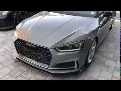 2019 Audi s5 b9 ceramic coated - YouTube