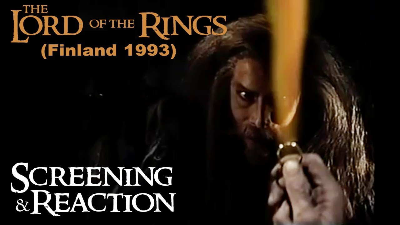LOTR (1993) Screening & Reaction - Part 1/3