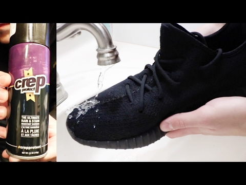 DOES CREP PROTECT REALLY WORK? (Ultra Boost/Yeezy V2 test)