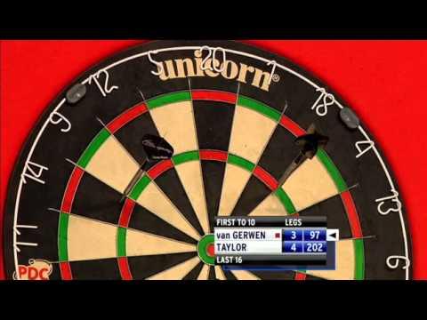 Van Gerwen v Taylor | 2/3 | Rnd 2 | Grand Slam of Darts 2012 - YouTube