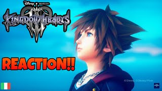 KINGDOM HEARTS 3™ - REACTION OPENING ''FACE MY FEARS''
