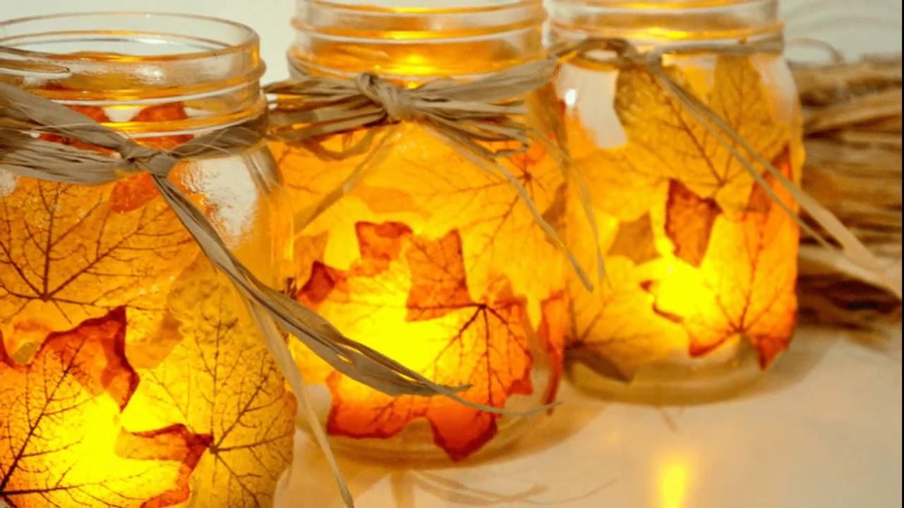 2017 Fall Wedding Candle Centerpiece Ideas 2 Youtube