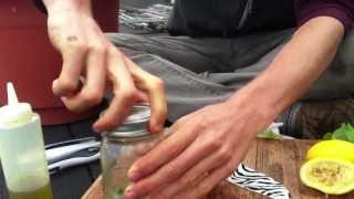 Mason Jar Vinaigrette - Brooklyn Rooftop Garden Recipes