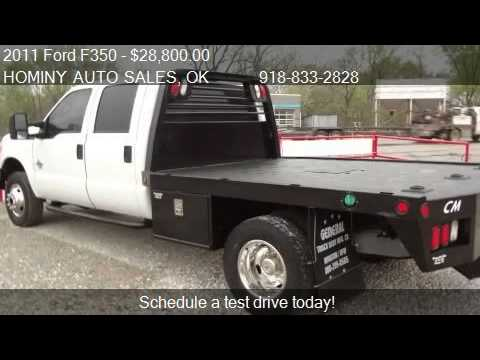 2011 Ford F350  CREW CAB XL 4X4  - for sale in Hominy, OK 74