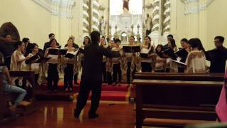The Majesty and glory of your name - San Agustin Choir Macau