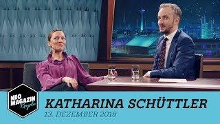 Gambar cover Katharina Schüttler zu Gast im Neo Magazin Royale mit Jan Böhmermann - ZDFneo