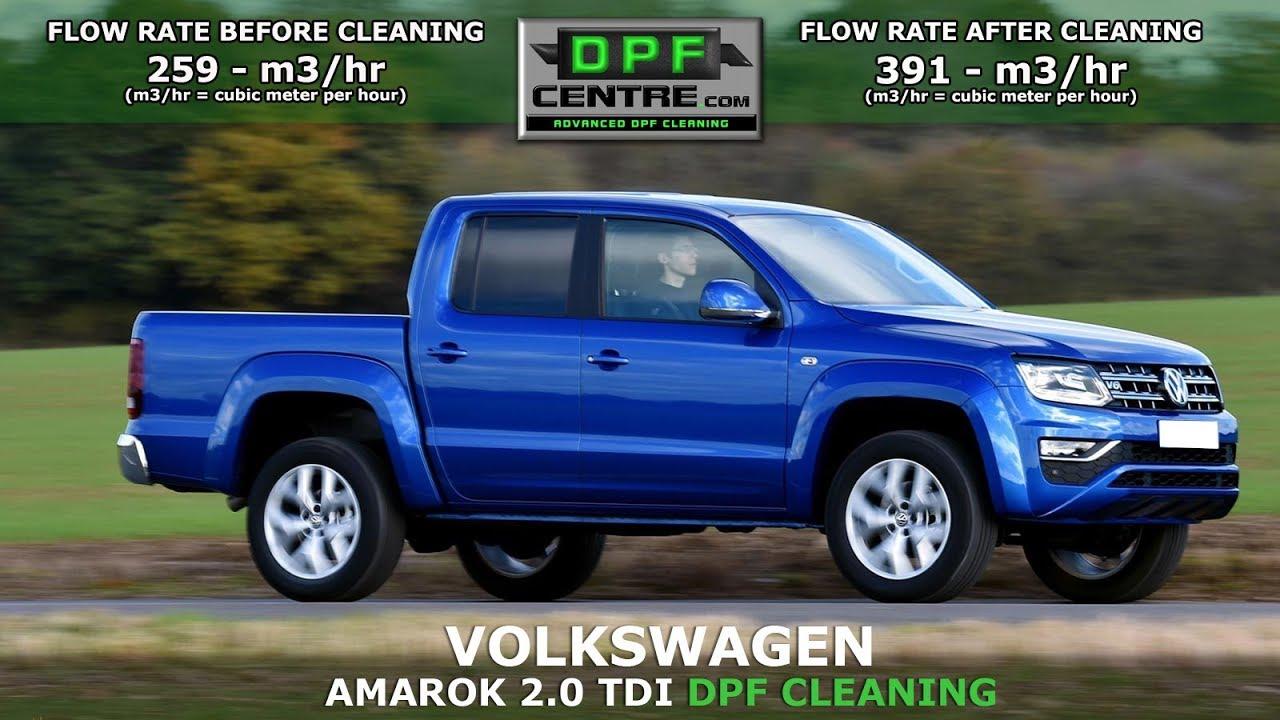 Volkswagen Amarok 2 0 TDI DPF Cleaning - Quantum - DPF